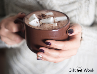 DIY Gift Treat your mom with some delicious hot cocoa for Mother's Day